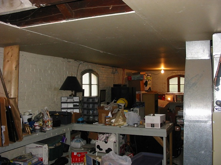 basement before expansion